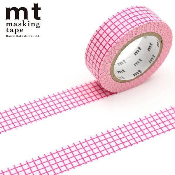 マスキングテープ マステ mt カモ井加工紙 mt 1P (15mmx10m)MT01D402 方眼 ベリームース