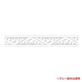 柄入りOPPテープ HEIKO シモジマ パッキングテープ 10巻セット 波 15mmx25m