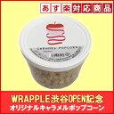 ポップコーンWRAPPLE渋谷 OPEN記念オリジナルキャラメルポップコーン 226g