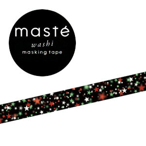 マスキングテープMark's/マークスマスキングテープ・マルチ(ネオン・スター)MST-ZX02-A