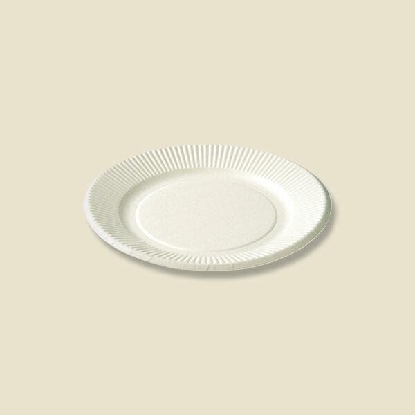 紙皿スタンダードプレート(ペーパーウェア)T−6S 100枚入