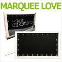 クリスマス最終SALE!MARQUEE LOVE マーキーライト マーキーシェイプ クリスマス プラスチック チョークボード 312560