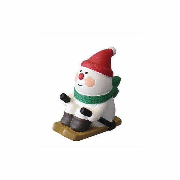 クリスマス ディスプレイDECOLE デコレconcombre コンコンブルスノーマン スキー ZXS-74013