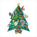 クリスマスカード APJコロボックルダイカットツリーカードアニマル XC-1000094164