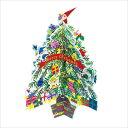 クリスマスカード APJコロボックルダイカットツリーカードミニサンタ XC-1000094165