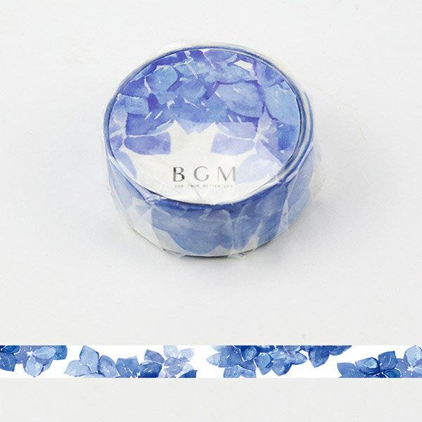 マスキングテープ マステ BGM ビージーエム紫陽花 BM-SPS015 四季の色