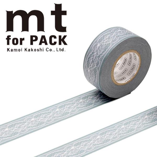 梱包用粘着テープ 幅広mt カモ井加工紙mt for PACK フラワーレース25mm×15mMTPACK14 1巻