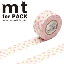 梱包用粘着テープ 幅広mt カモ井加工紙mt for PACK つぼみ25mm×15mMTPACK15 1巻