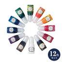 セール特価!UVレジン用着色剤 宝石の雫 12色セット パジコ ジュエルラビリンス 10ml