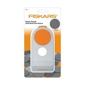 クラフトパンチ 花岡 ペーパーインテリジェンス FISKARS フィスカース パワーパンチ L サークル H-FI 1020493