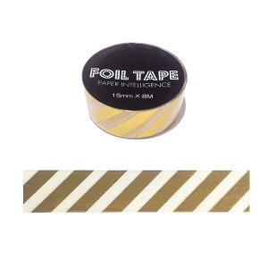 風紙テープ フォイルテープ花岡 ペーパーインテリジェンスストライプ 15mm×8m