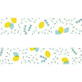 【クーポン配布中】マスキングテープパピアプラッツnocogou ノコゴウローズマリーとレモン 37-665 20mm×7m