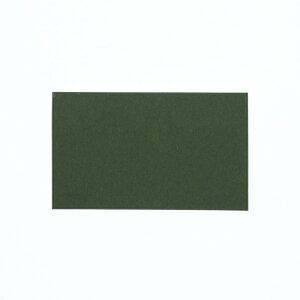 カラーカード HEIKO シモジマ 色無地カード 名刺サイズ オリーブ 30枚入
