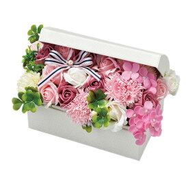 ソープフラワートレジャーシャボンフラワーBOX(L)ピンク