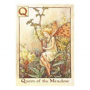 【クーポン配布中】ポストカードグリーンフラッシュ GreenFlash FLOWER FAIRIESFF-029 The Queen of the Fairy