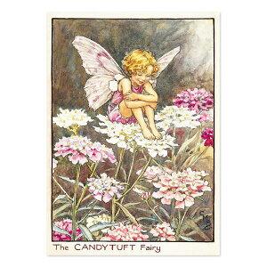 【クーポン配布中】ポストカードグリーンフラッシュ GreenFlash FLOWER FAIRIESFF-040 The Candytuft Fairy