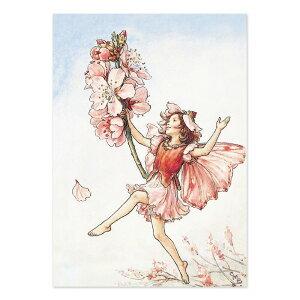 【クーポン配布中】ポストカードグリーンフラッシュ GreenFlash FLOWER FAIRIESFF-052 The Almond Blossom Fairy