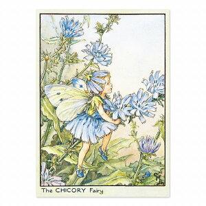 【クーポン配布中】ポストカードグリーンフラッシュ GreenFlash FLOWER FAIRIESFF-061 The Chicory Fairy
