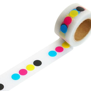 デザイン養生テープYOJOTAPE小屋女子DIYカフェラッピングYOJOテープ強粘着4原色RYJ-14幅25mm×5m