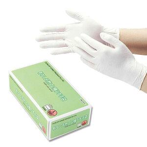 【クーポン配布中】使い捨て手袋 ゴム手袋ラテックスグローブ ラテックス手袋ダンロップ 粉なし 天然ゴム 極うす手袋ホワイト L 7558L 100枚入り