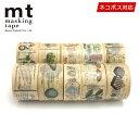 マスキングテープ 10巻セット mt カモ井加工紙 図鑑コンプリートセット