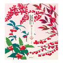 レター midori ミドリ 「紙」シリーズ 冬レター 便箋259 雪と赤い実柄 4柄入り 85259006