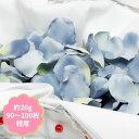フラワーシャワー フラワーペタル 造花アートフラワー 花びら FLE-0713 ブルー【2袋までネコポス対応】