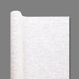 フラワー用ラッピング オーセロ 不織布 バティックロール 01 ホワイト 1本