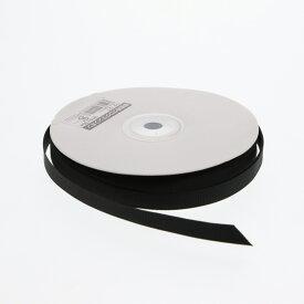 【在庫限り】グログランリボン 9mm幅×30m巻 クロ 1巻