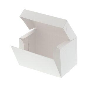 箱 ケーキ箱 HEIKO シモジマ 食品包材 サイドオープンケーキ箱 2号 白 ポケット付 10枚