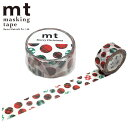 2020年10月下旬発送予定 クリスマスマスキングテープ mt カモ井加工紙クリスマスチェックドット MTCMAS119 20mm×7m
