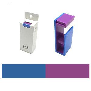 マスキングテープカッター mt カモ井加工紙テープカッター2トーン コバルト×グレープMTTC0032