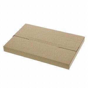【クーポン配布中】発送用ボックス厚み30mmHEIKOラクポスBOX330-30クラフト10枚入メール便対応ダンボールパッケージネコポス箱ゆうパケット梱包資材宅配箱小型薄型フリマ