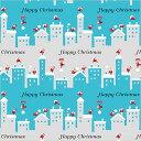 クリスマス先行SALE!包装紙 ラッピングペーパー サンタズウォーク 半才 (50枚入り) HEIKO/シモジマ