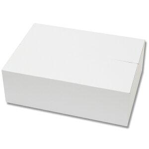 段ボール箱 HEIKO シモジマ 白段ボール箱(20枚入り)B4用-120(宅配便80サイズ対応)(W375×D265×H120mm)