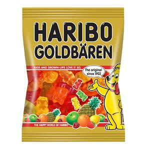 輸入菓子 HARIBO(ハリボー) グミキャンディ ゴールドベア(100g)