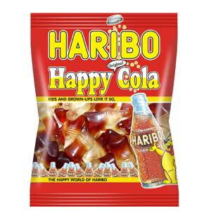 輸入菓子 HARIBO(ハリボー) グミキャンディ ハッピーコーラ(100g)