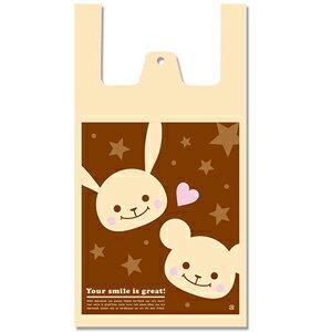 レジ袋 ビニール袋 HEIKO シモジマ ハンドハイパー M プチフレンド(100枚入り)