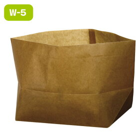 ワックスペーパーバッグ 紙袋 ロー引き袋 亀底 W-5(100枚入り) ラッピング
