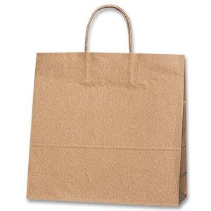 紙袋 手提げ HEIKO シモジマ 25チャームバッグ(25CB) 3才 未晒無地(クラフト紙)(50枚入)
