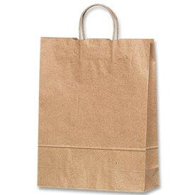 紙袋 手提げ HEIKO シモジマ 25チャームバッグ(25CB) 2才 未晒無地(クラフト紙)(50枚入)