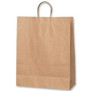 紙袋 手提げ HEIKO シモジマ 25チャームバッグ(25CB) カスタムB 未晒無地(クラフト紙)(50枚入)