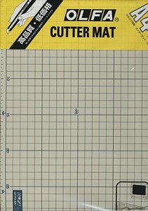 OLFA オルファカッターマット(カッティングマット)134B 225×320mm(A4サイズ)