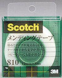 Scotch スコッチメンディングテープ 810-1-12C 12mm x 30m