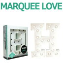 MARQUEE LOVE lettersLEDイニシャルライトオブジェマーキーライト マーキーレター369087 MARQUEE KIT H