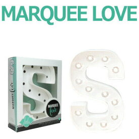 MARQUEE LOVE lettersLEDイニシャルライトオブジェマーキーライト マーキーレター369098 MARQUEE KIT S