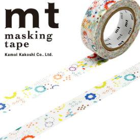 マスキングテープ mt カモ井加工紙 mt ex1p カラフルPOP(15mmx10m)MTEX1P74
