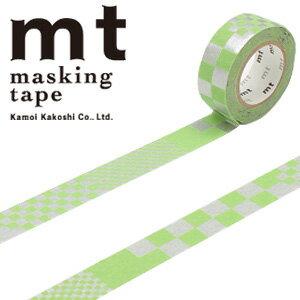 【5/26までセール特価!】最終特価! マスキングテープ  mt カモ井加工紙 mt fab フロッキーテープ 1p スクエア(15mmx3m ミニ紙管)MTFL1P02
