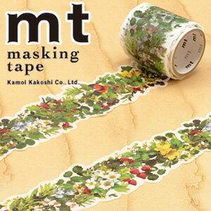 マスキングテープ マステ mt カモ井加工紙 mt fab 型抜きテープ 1p グリーン(38mmx3m ミニ紙管)MTKT1P04
