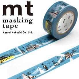 【在庫限り特価】マスキングテープ  mt カモ井加工紙 mt x オーレ・エクセル 1p Skansen Houses(19mmx10m)MTOLLE06